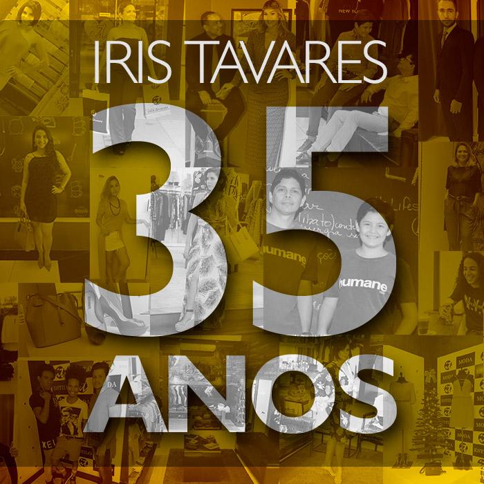 35 anos de Iris Tavares