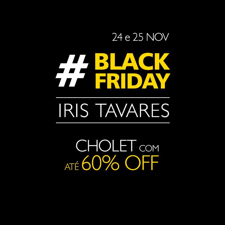 eeecf21b8 Black Friday Iris Tavares - 24 e 25 NOV
