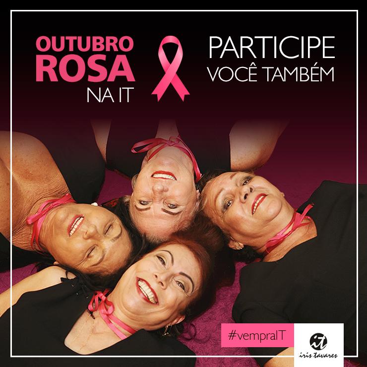 Outubro Rosa na Iris Tavares