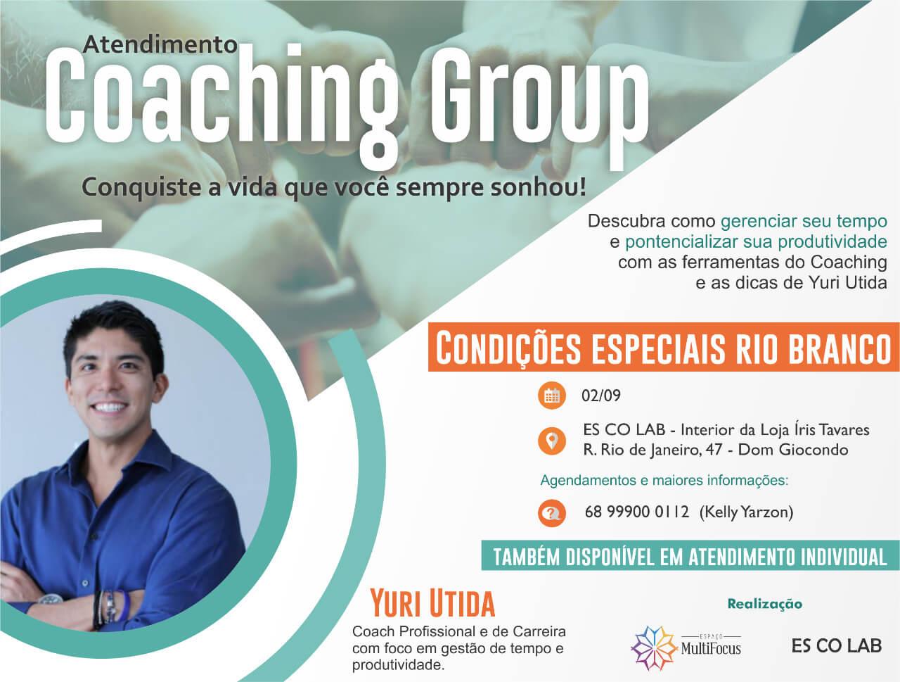 Coaching Group com Yuri Utida