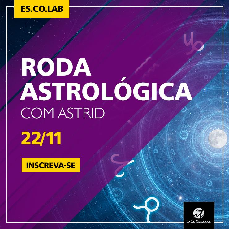 Roda Astrológica com Astrid
