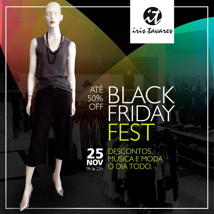 Black Friday Fest na Iris Tavares