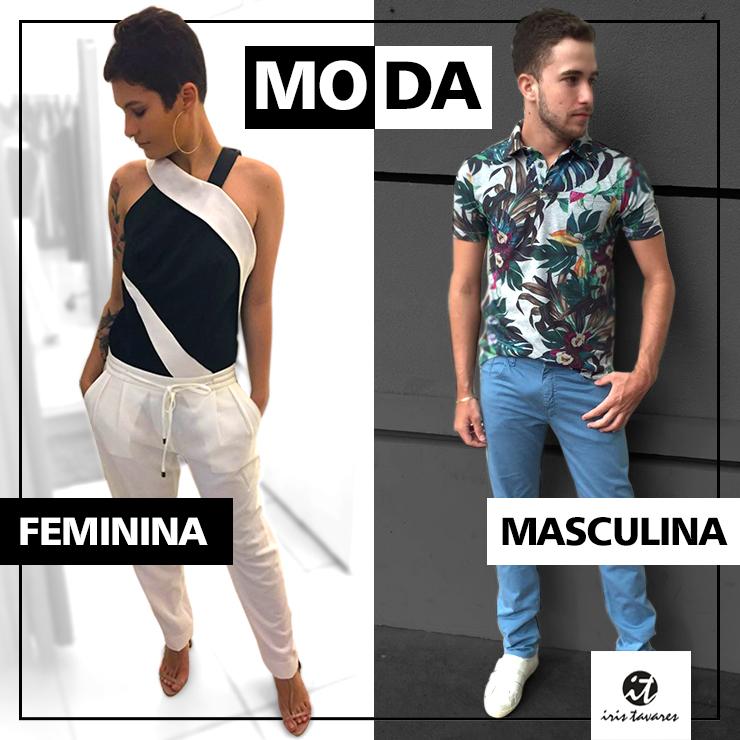 Moda feminina e Masculina é IT