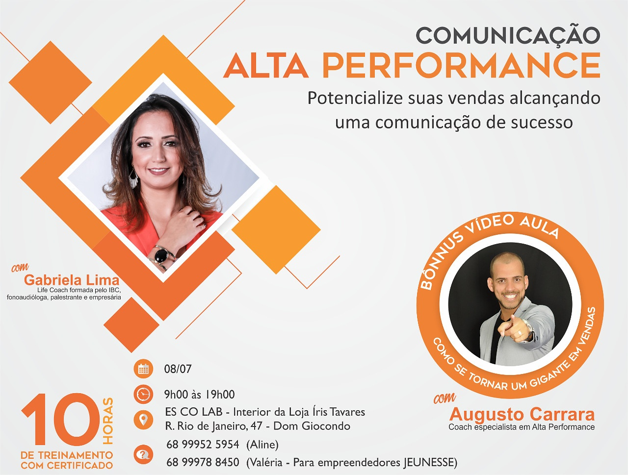 Workshop de Comunicação com Gabriela Lima - ES.CO.LAB