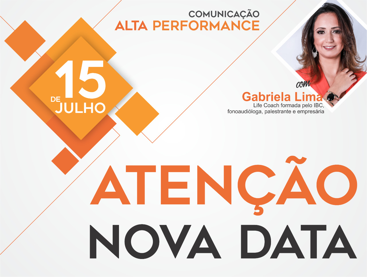 NOVA DATA - Workshop de comunicação com Gabriela Lima